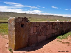 Walls Around the Temple Kalasasaya - #Tiwanaku ( #Tiahuanaco or #Tiahuanacu)  Pre-Columbian Ruins, Tiwanaku Municipality, Ingavi Province, La Paz Department, #Bolivia (Black Diamond Images) Tags: southamerica temple ruins outdoor ruin bolivia unescoworldheritagesite walls américadosul tiwanaku tiahuanaco amériquedusud tiahuanacu zuidamerika sudamérica kalasasaya lapazdepartment precolumbianruins tiwanakumunicipality ingaviprovince templekalasasaya