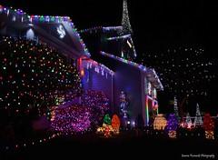 Christmas lights (Joanna Kurowski Photography) Tags: christmas winter decorations canon outdoors lights navidad colorful noel christmaslights christmasdecorations feliznavidad northpole wesolychswiat joannakurowskicom joannakurowskiphotography