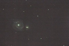 m51 (desertstarsobservatory) Tags: galaxy astrophotography m51 messier deepspace