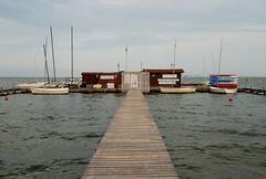 sailing school-Mar Menor-Murcia-DSC_8327-W-1 (taocgs) Tags: sea espaa landscape pier mar spain sailing paisaje murcia embarcadero sailboats veleros navegacin