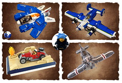 2015 (Sylon-tw) Tags: car plane lego space aircraft air year nick hotrod spaceship cloudless build moc trotta 2015 skyfi daphnia sylon sylontw skyrazor