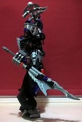 Nyctoria - Wielder of the Eighth Sign (Self-MOC V13) (Valkyrion Starsharde) Tags: bionicle g1 g2 hero factory ccbs lego god goddess deity great being zodiac star sign astrology samsara life suffering death rebirth cycle scorpio scorius constellation scorpion water self moc revamp
