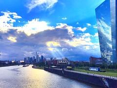 Frankfurt am Main Deutschland EZB Germany ECB (jabbrah) Tags: geld deutschland germany river sky skyscraper money euro ecb ezb skyline main frankfurt frankfurtammain
