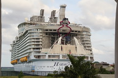 World Largest Cruise Ship Docks at Falmouth Port