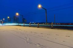 Some more snow: white as there are no cars (jaeschol) Tags: europa hardbruecke jahreszeit kantonzürich kontinent kreis5 schnee schweiz stadtzürich switzerland wetter winter zürich ch
