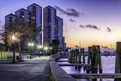 Ft. Myers riverfront (JWY80) Tags: ftmyers waterfront fortmyers florida unitedstates us nikon d750 24120mm nikkor goldenhour river architecture