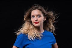 Chiara (Miltone1967) Tags: miltonlabbra lips chiara pentax k1 70 limited flash red rosso blu milton capelli