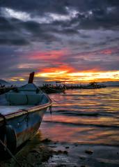 Fishermen Wharf (Ah Wei (Lung Wei)) Tags: penang penangisland georgetown pulaupinang malaysia georgetownpenang my sunrises sunrise landscape shore clouds seashor seascape nikon50mmf18g 50mmf18g nikond750 nikon ahweilungwei dovejetty jelutongexpressway jelutongfishermenwharf jelutong