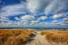 St. Joseph (mswan777) Tags: beach grass dune waves water lake michigan great lakes nikon d5100 sigma 1020mm lighthouse pier scenic wind autumn