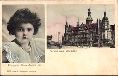 Gruß aus Dresden mit Foto von Prinzessin Anna Monica Pia (Miss Mertens) Tags: adel postkarte cartolina monarchie royal royalty monarchia königin könig prinz prinzessin king queen roi reine rey regina prince princess monarchy postcard picturecard oldfashioned kaiser kaiserin deutschland germany allemagne tyskland wettiner sachsen dresden leipzig sajonia sassonia saksen casareale principe principessa re