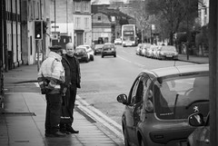 Excuses, Excuses... (Alexander Jones - Documentary Photography) Tags: candid street photography decisive moment black white monochrome bath north east somerset south west england nikon d3000 city documentary
