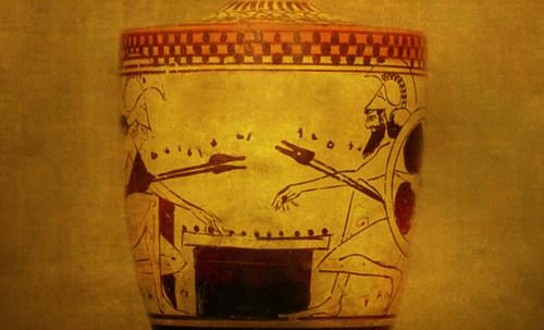 "Petteia - Ludus Latrunculorum  / Iconografía de las civilizaciones helenolatinas • <a style=""font-size:0.8em;"" href=""http://www.flickr.com/photos/30735181@N00/31710163783/"" target=""_blank"">View on Flickr</a>"