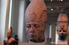 King Senwosret III (konde) Tags: granite senwosretiii 12thdynasty middlekingdom abydos statue whitecrown upperegypt templeofosiris ancientegypt art
