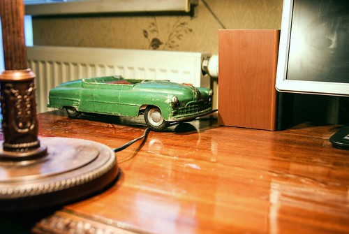 Old toy modelled the soviet VIP car called ZEEM