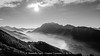 beyond the clouds (Alex - Born To Be Free) Tags: beyondtheclouds beyond clouds bew bw biancoenero blackandwhite panorama panoramico panoramic paesaggio landscape landscapes landscapemountain againstsun low seaclouds valsassina crecedimuggio top mountain