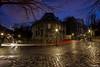 Un virage à Montmartre 2 (dblechris) Tags: aris nuit night paname montmartre filet canon eos60d photo love loveparis couleur town ville france virage extérieur dalida eos 60d paris lumiére light de