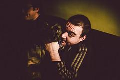 (jimh_7) Tags: man dog drunk fave eyes hello leica 35mm summicron m240 digital night dark love creature flickr portrait 2017