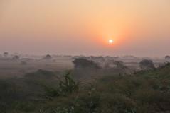 Indian Sunrise (Gavin Edmondstone) Tags: sunrise india smoke soorwaldam