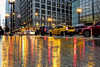 Rainy day in the city (ElenaK@Chicago) Tags: rainyday chicago streetsofchicago reflection sonyrx100m3 manfrotto