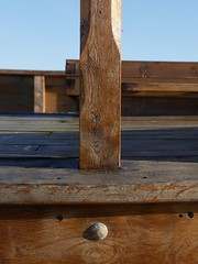 Decking (Compactman) Tags: hastings deck boat seaside wood wooden sunny sussex panasonic lumix g7