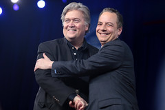 Steve Bannon & Reince Priebus (Gage Skidmore) Tags: steve bannon white house strategist reince priebus chief staff president donald trump cpac conservative political action conference 2017 national harbor maryland