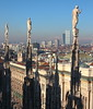 (B Plessi) Tags: duomo milano italia milan italy gotico gothique cathedrale statue landscape skyline citylife isozaki zaha hadid tre torri