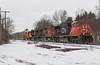 Quite The 148 (Joseph Bishop) Tags: cn cndundassubdivision copetown 5789 emd sd75i trains train track tracks railfan railroad railway rail rails