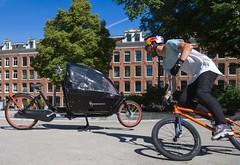 WorkCycles Kr8 Skate Bowl-2 (henry in a'dam) Tags: air bakfiets bicycle bike bmx bowl cargobike dutch freestyle jordaan kr8 park skate workcycles