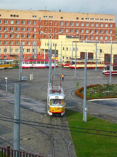 Moscow tram Tatra T3SU 3774