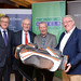 Tim Fenn, IHF CEO, Donal O'Meara and Martin Murphy, Celtic Linen and Joe Dolan, IHF President