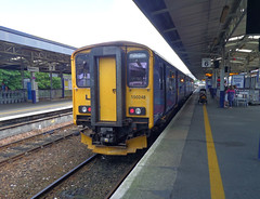 150248 at Plymouth (5) (Marky7890) Tags: station train plymouth railway devon sprinter dmu fgw 150248 2p84