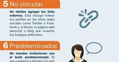 10 errores en el uso de LinkedIn. Infografa en espaol. #CommunityManager (aitchar) Tags: en de 10 el uso espaol linkedin errores infografa communitymanager