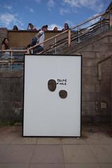 Selfie Wall (G. J. Winterboer) Tags: uk streetart graffiti mare satire banksy super antiwar westonsupermare weston anticonsumerism canon5dmkii canon5dmarkii bemusementpark dismaland