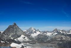 Le Cervin ou Matterhorn 4478 m (CH) (Annelise LE BIAN) Tags: sunshine suisse damn zermatt matterhorn nuages blanc paysages cervin cervino coth supershot fabuleuse alittlebeauty fantasticnaturegroup coth5 neigeetglace