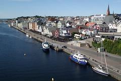Smedasundet fra Risøy bru (Odd Stiansen) Tags: summer sommer vestlandet haugesund smedasundet