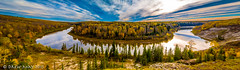 My Big Bend (mdrew70) Tags: county autumn trees sky canada fall nature st clouds river landscape photography anne pano may drew lac images panoramic alberta pembina drewmayphoto