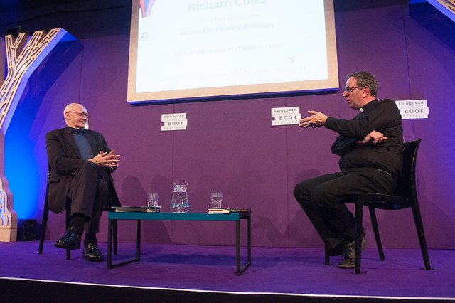 Richard Coles Chaired by Richard Holloway