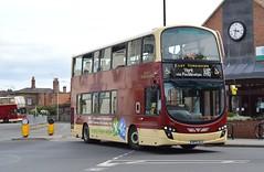 792. BP15 OLG: East Yorkshire (chucklebuster) Tags: volvo yorkshire east wright gemini pocklington b9tl bp15olg