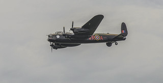 The Avro Lancaster in Flight