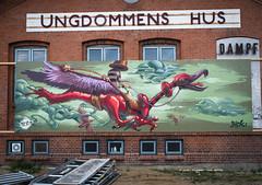 Rider of the storm (Fat Heat .hu) Tags: denmark graffiti cfs fatheat