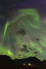 Aurora borealis in Faskrudsfjordur tonight (*Jonina*) Tags: iceland ísland faskrudsfjordur fáskrúðsfjörður auroraborealis northernlights norðurljós night nótt sky himinn longexposure jónínaguðrúnóskarsdóttir august26th2015 25faves 1500views 50faves