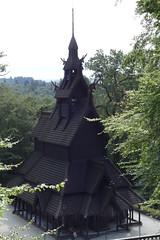 Stabkirche Fantoft (Pascal Volk) Tags: norway bergen fantoft fantoftstavkirke fantoftstavechurch fantoftstavkyrkje stabkirchefantoft
