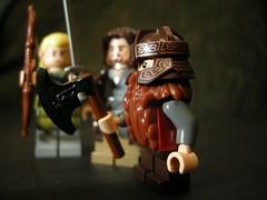 Lego LOTR (Jeff Jones Images) Tags: closeup toy lego mini depthoffield lotr figure pointsandshoot