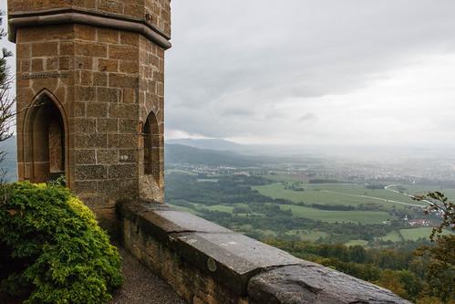 Le bastion de l'angle vif au château de Hohenzollern