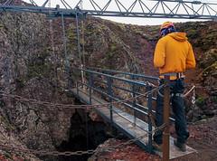 Lift ins Innere des Vulkans Thrihnukagigur - Tour Inside the volcano, Island