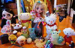 STGCC 2015 - Eiko and Wednesday with the new members of the Kewty gang they brought home.........