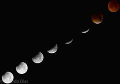 Bloodmoon (Eduardo Dias.) Tags: autumn moon color collage eclipse spain luna lunar bloodmoon 2015 tetrad