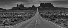 Mile Marker 13 (matxutca (cindy)) Tags: road utah desert remote serene monumentvalley rockformations milemarker13