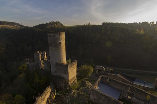 Burgruine Kollmitz Bergfried 2
