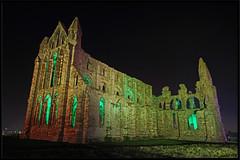 Whitby Abbey EH 2 (MTB1975) Tags: english heritage halloween abbey night coast seaside yorkshire goth illuminations dracula illuminated haloween whitby illuminate whitbyabbey englishheritage whitbygoth gothweekend october2015